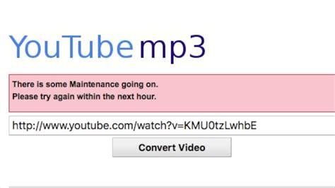 RIP YouTube MP3 Converter | Website Taken Down   YouTube