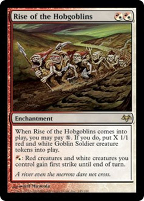 Rise of the Hobgoblins   Enchantment   Cards   MTG Salvation