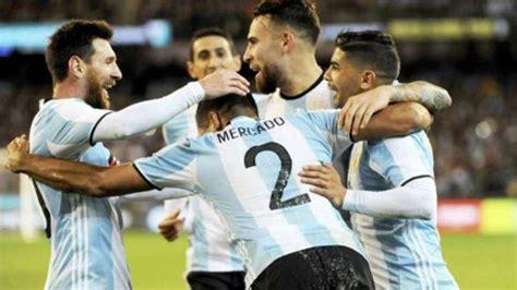 Rival confirmado para la Selección argentina antes de ...