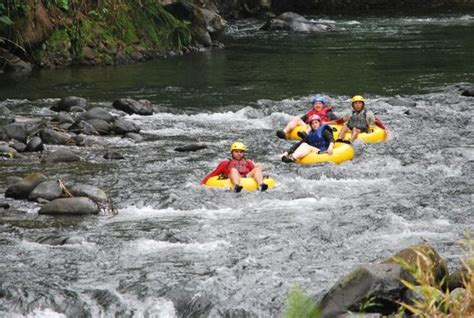 River tubing at Arenal volcano - Picture of CRS Tours ...