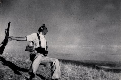 Robert Capa: Finding a Fearless Photographer s Voice   The ...