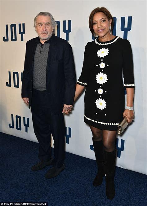 Robert De Niro and wife Grace Hightower arrive at Joy ...