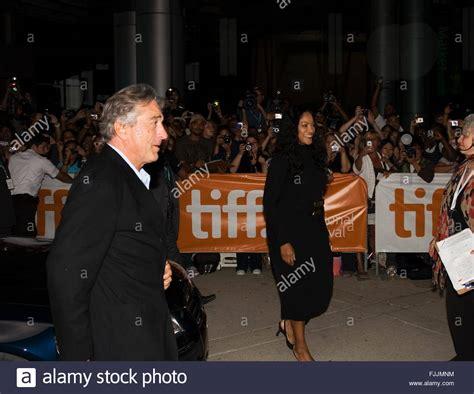Robert De Niro And Wife Grace Hightower Stock Photos ...