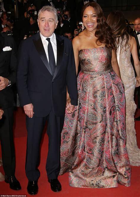 Robert De Niro with wife Grace Hightower at Hands Of Stone ...