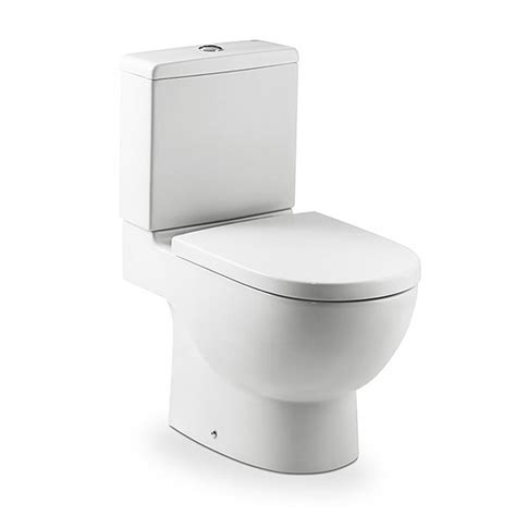 Roca - Meridian-N Close Coupled Toilet with Soft Close ...