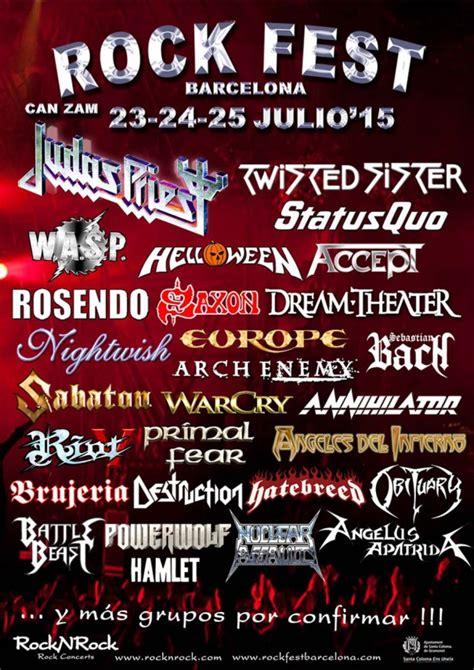 Rock Fest Barcelona 2015   All Metal Festivals
