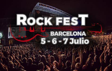 Rock Fest Barcelona 2018 pone a la venta abonos a un ...