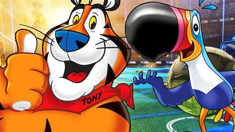 Rocket League   TONY THE TIGER & TUCAN SAM   Online Ranked ...