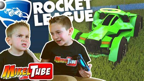 ROCKET LEAGUE Una partida con Leo en MikelTube - YouTube