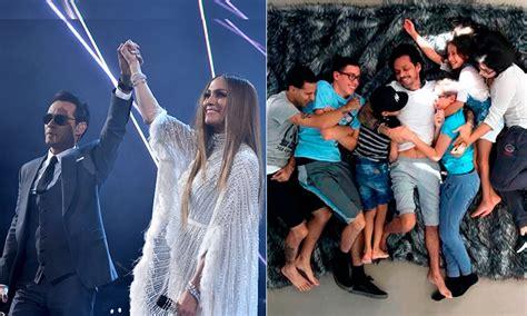 Rodeado de amor , Jennifer Lopez muestra a Marc Anthony ...