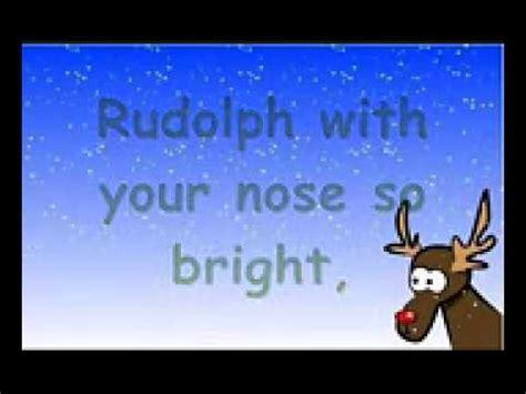 Rodolfo el reno canción en ingles   YouTube