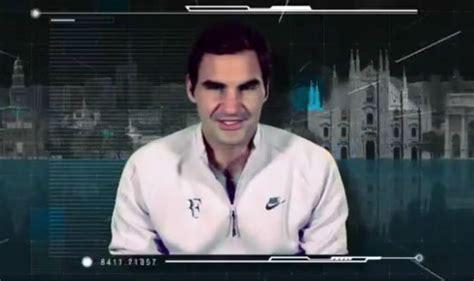Roger Federer appears at the Next Gen ATP finals ...