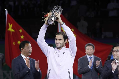 Roger Federer beats Rafael Nadal to win Shanghai Masters ...