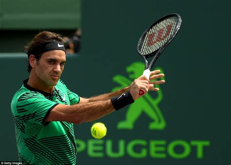 Roger Federer defeats Rafael Nadal in Miami Open   Daily ...