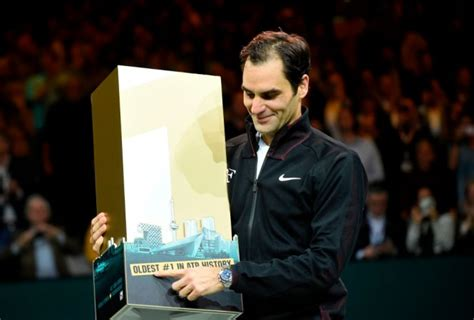 Roger Federer happy about being the oldest No. 1 in tennis ...