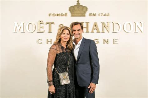 Roger Federer launches new champagne line with wife Mirka ...