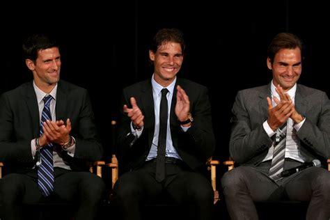 Roger Federer, Rafael Nadal and Novak Djokovic add another ...