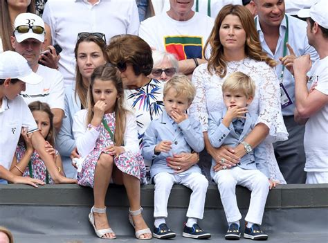 Roger Federer s 2 Sets of Twins Steal the Show at ...
