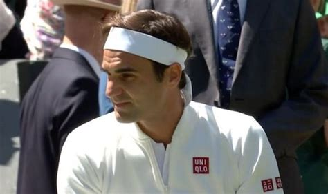 Roger Federer shows off NEW UNIQLO gear as Wimbledon star ...