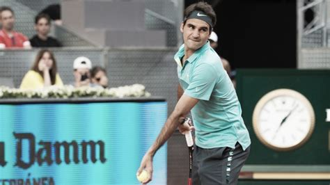 Roger Federer to play 2016 Mutua Madrid Open   VAVEL.com