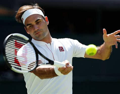 Roger Federer Uniqlo outfit revealed at Wimbledon after ...
