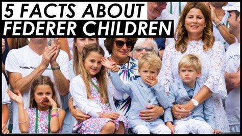 ROGER FEDERER'S CHILDREN ???? 5 FAST FACTS YOU NEED TO KNOW ...