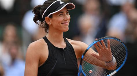 Roland Garros 2018 : Garbine Muguruza terrasse Maria ...