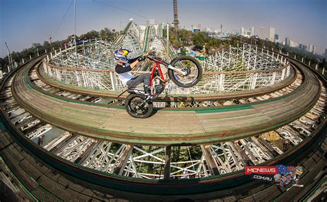 Rollercoaster Ride on a Trials bike! | MCNews.com.au