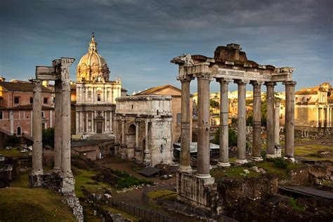 Roman Forum, The Debris Collection of Ancient Buildings in ...