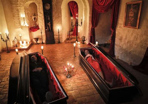 Romania: 2 Canadians to sleep in coffins at Dracula's ...