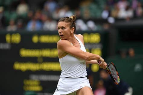 Romania's Simona Halep leaves Wimbledon