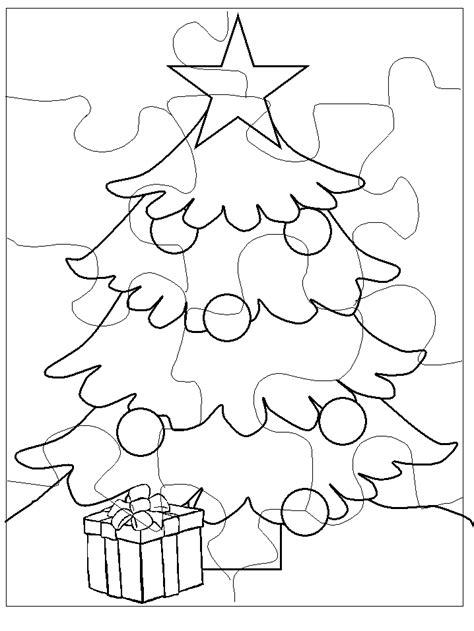 Rompecabezas con motivos navideños para pintar   Colorear ...