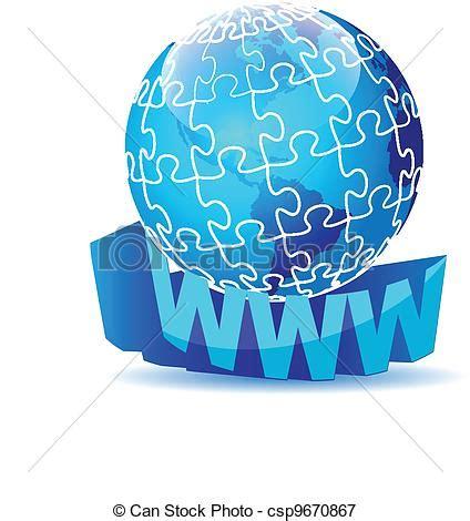 Rompecabezas, global, globo, internet. Rompecabezas ...