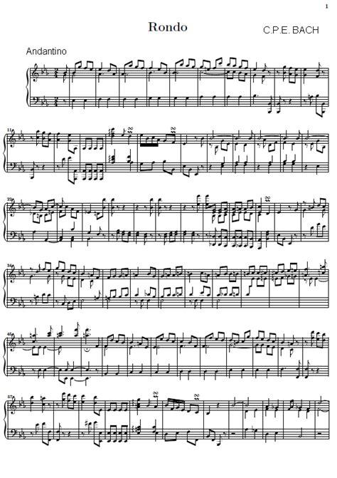 Rondo - Andantino (Piano)