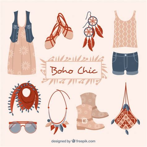 Ropa fashion y accesorios en estilo boho   Descargar ...
