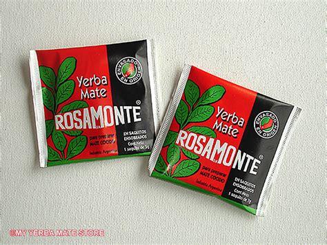 Rosamonte Yerba Mate Tea Bags, Mate Cocido