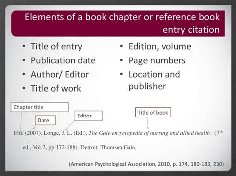 Roseman University Library - APA Citation - Reference Page