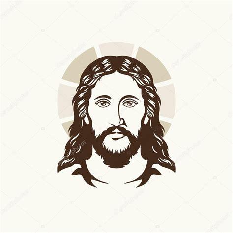 Rostro de Jesucristo — Vector de stock #89943736 ...