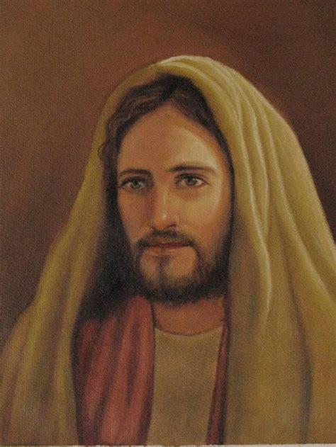 Rostro de Jesus Luis Antonio Godoy Choc   Artelista.com   en
