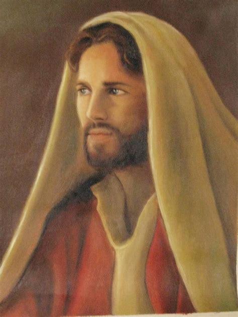 Rostro de Jesus Luis Antonio Godoy Choc   Artelista.com