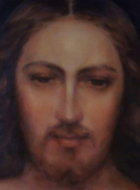 Rostro de Jesús  recibe Su amor y Su paz