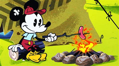 Roughin  It | A Mickey Mouse Cartoon | Disney Shorts   YouTube
