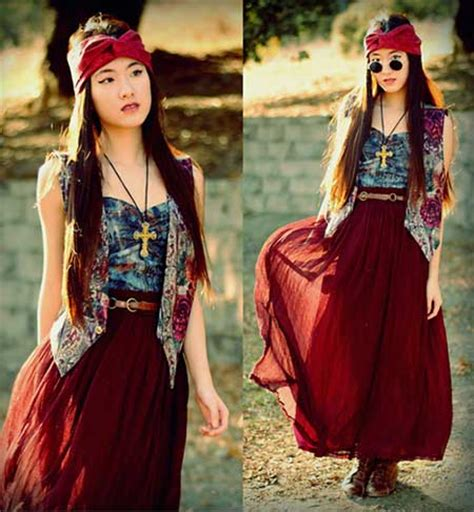 Roupas Hippie da Moda Feminina: Fotos, Looks, Dicas