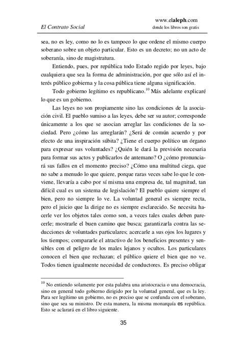 Rousseau el contrato social