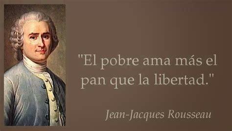 Rousseau: Un adelantado a su época   Apuntes y Monografías ...