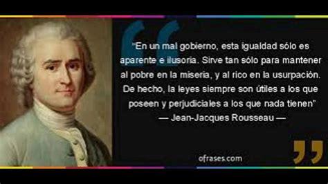 Rousseau y su visión política   YouTube