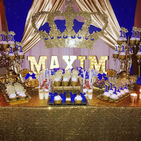 Royal Prince Birthday Party Ideas | Photo 1 of 11 | Catch ...