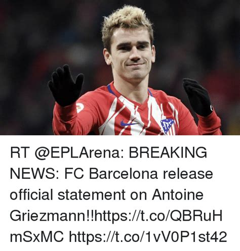 RT BREAKING NEWS FC Barcelona Release Official Statement ...