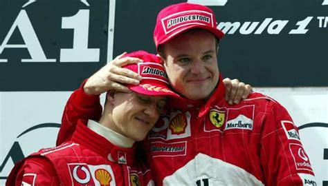 Rubens Barrichello: «No puedo visitar a Michael Schumacher ...