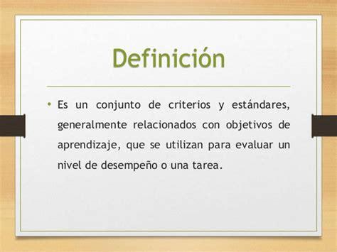 Rubrica. Definicion, tipos y elementos